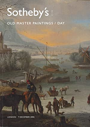 Sothebys 2006 Old Master Paintings Day sale