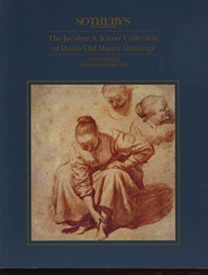 Sothebys 1994 Klaver Collection of Dutch Old Master Drawings
