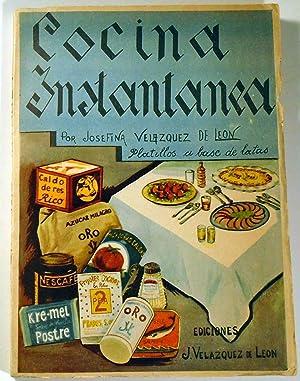Cocina Instantanea [Cocktail Recipes]: DE LEON, Josefina