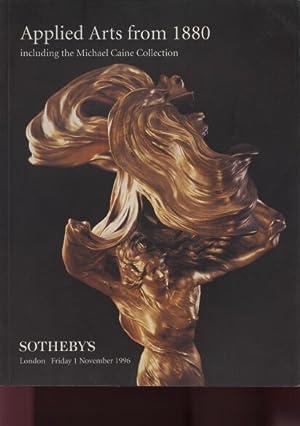 Sothebys 1996 Applied Arts from 1880 &: Sothebys