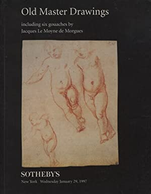 Sothebys 1997 Old Master Drawings & 6 Gouaches by Morgues