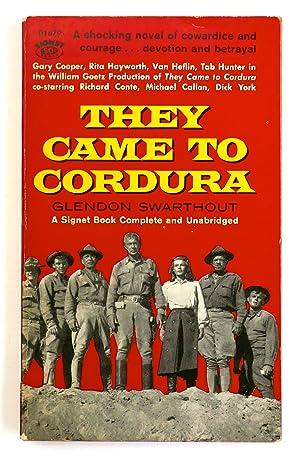 They Came to Cordura: Swarthout, Glendon