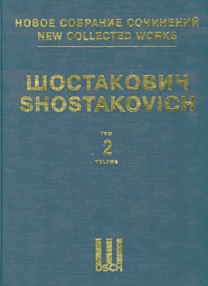 Symphony No. 2. New collected works of Dmitri Shostakovich. Vol. 2. Full Score. Dedication to Oct...