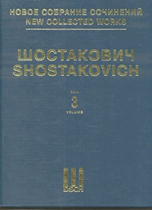 Symphony No. 3. New collected works of Dmitri Shostakovich. Vol. 3. Full score.