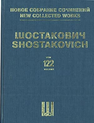 New collected works of Dmitri Shostakovich. Vol. 122. New Babylon. Music to the silent film. Op. ...