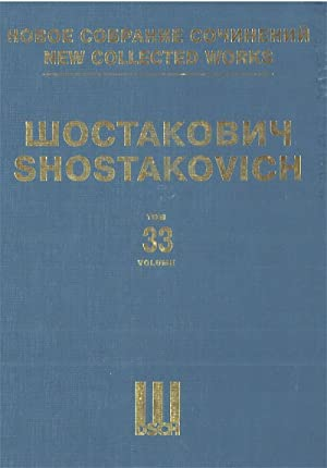 New collected works of Dmitri Shostakovich. Vol. 33. Suite For Variety Stage Orchestra. Full Score.