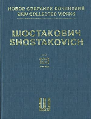 New collected works of Dmitri Shostakovich. Vol. 123. Music to the Film Alone Op. 26. Full score.