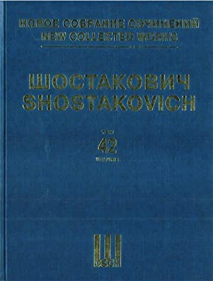 New collected works of Dmitri Shostakovich. Vol. 42. Violin Concerto No. 1 op. 77. Full Score.
