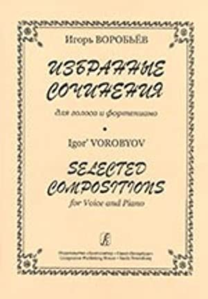 Selected Compositions for voice and piano