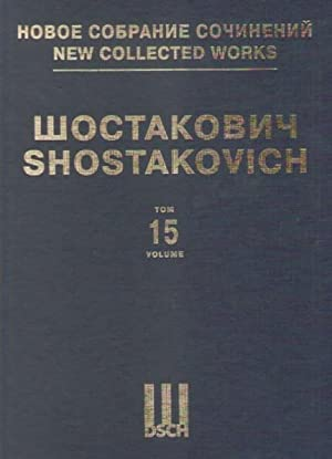 Symphony No. 15. Op. 141. Full Score. New collected works of Dmitri Shostakovich. Vol. 15