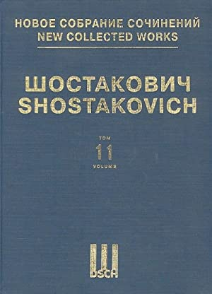 Symphony No. 11. Op. 103. Score. New collected works of Dmitri Shostakovich. Volume 11