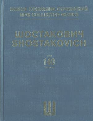 "New Collected Works of Dmitri Shostakovich. Vol. 140. Film music. ""Hamlet"". Op. 116. Published in..."