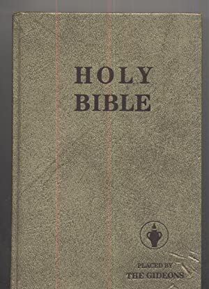 Holy Bible-Placed by The Gideons