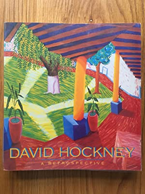 David Hockney: A Retrospective - signed presentation copy