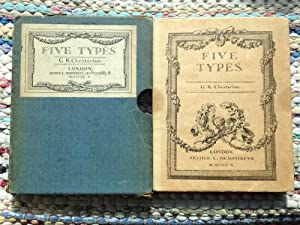 Five Types - A Book Of Essays