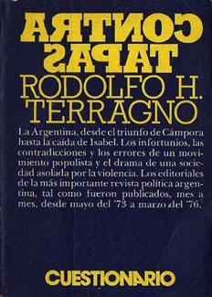 Contratapas: Terragno, Rodolfo H.