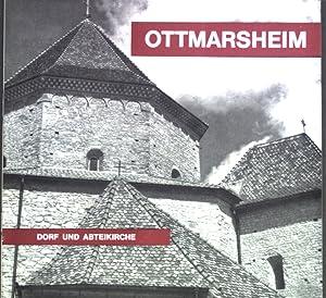 Ottmarsheim: Dorf und Abteikirche.: Stintzi, Paul: