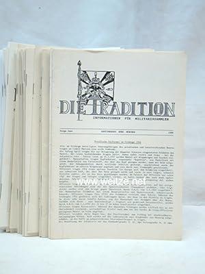 Informationen für Militariasammler,: Die Tradition,: