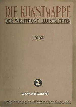 Die Kunstmappe der Westfront-Illustrierten,: Westfront-Illustrierte,: