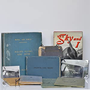 Air Transport Auxiliary. Pilot's Flying Logbooks 1939-1965; together with her annotated Ferry ...