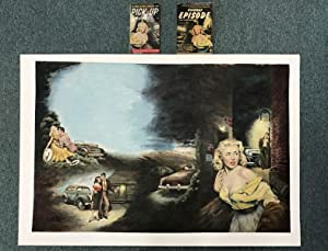 ORIGINAL COLOR PAINTING FOR CHARLES WILLEFORD'S 1955: WILLEFORD, CHARLES [AUTHOR].