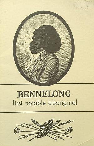 Bennelong First Notable Aboriginal.: Kenny, John.