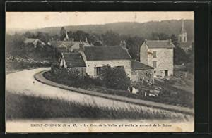 Carte postale Saint Chéron, Un coin de