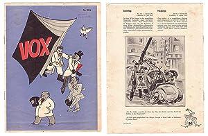 VOX. Nr. 39 K.: Emmerich HUBER (1903-1979), Illustrator.