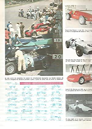 Imagen del vendedor de LAMINA MONITOR 0390: AUTOMOVILES DE CARRERAS Y MARCAS DE VELOCIDAD EN EL KILOMETRO LANZADO a la venta por EL BOLETIN