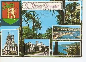 Imagen del vendedor de Postal 020491 : S. Remo Souvenir a la venta por EL BOLETIN
