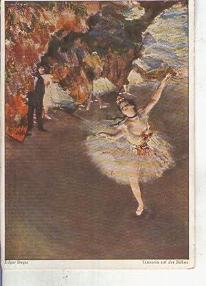 Postal 013488: Ballet de Edgar Degas: Varios