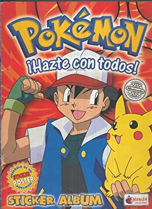 Album de Cromos INCOMPLETO: Pokemon sticker album