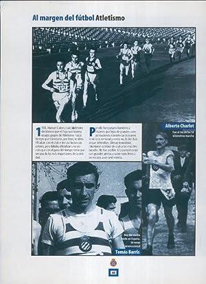 Imagen del vendedor de Espanyol Lamina 35: Seccion de Atletismo: Alberto Charlot, Tomas Barris a la venta por EL BOLETIN