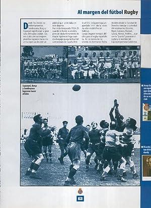 Espanyol Lamina 36: Seccion de Rugby: Varios