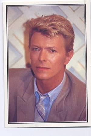 Cromos: The Smash Hits collection 85 numero 059: David Bowie