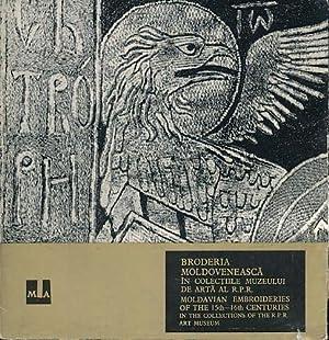 Broderia moldoveneasca in colectiile Muzeului de Arta: Nicolescu, Corina: