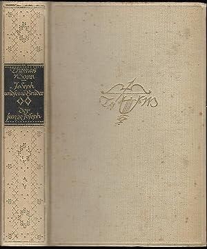 Der junge Joseph. Roman. [= Gesammelte Werke. Joseph und seine Brüder. Der zweite Roman.]: MANN, ...