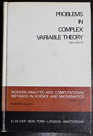 Problems in Complex Variable Theory (Modern Analytic: Krzyz, Jan G.