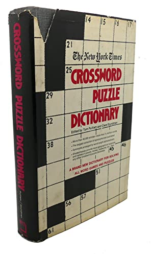THE NEW YORK TIMES CROSSWORD PUZZLE DICTIONARY: Tom Pulliam, Clare