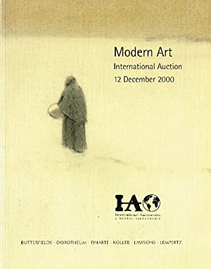 International Auctioneers December 2000 Modern Art -: Misc.
