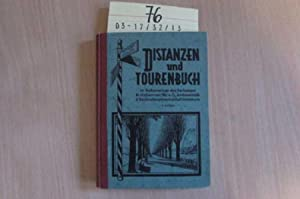 Distanzen und Tourenbuch: Halhammer, Alois: