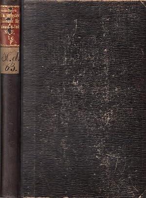 Seller image for Mittheilungen des K. K. Oesterreich. Museums für Kunst und Industrie. Neue Folge. 1. Band. 1. Jahrgang, Nr. 1 (Januar 1886) separat / 2. Jahrgang, Nr. 13 - 24 (256 - 267), Januar - Dezember 1887. Monatsschrift für Kunstgewerbe. Beigebunden: Jacob Falke - Die Ausstellung kirchlicher Kunstgegenstände / Jahresberichte 1886 und 1887. for sale by Antiquariat Carl Wegner