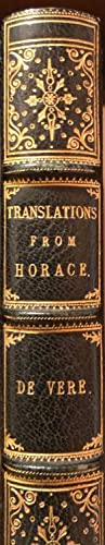 Translations From Horace And A Few Original Poems