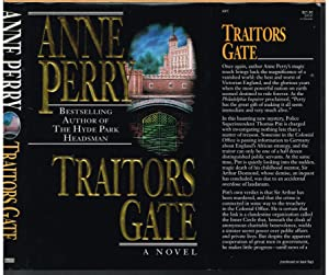 TRAITORS GATE, Thomas and Charlott Pitt, Book 14.