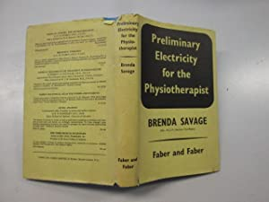 Seller image for Preliminary electricity for the physiotherapist for sale by Goldstone Rare Books
