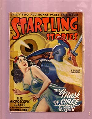 STARTLING STORIES-MAY 1948 PULP-EARLE BERGEY GGA COVER G-