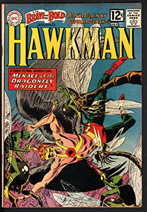 BRAVE AND THE BOLD #42 1962-HAWKMAN-JOE KUBERT-HIGH GRADE COPY