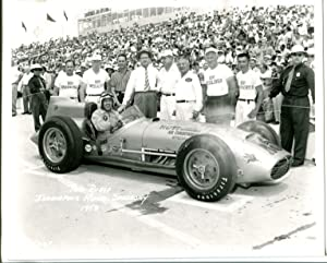 Indianapolis Motor Speedway Official 8 X 10 Indy 500 Photo-1958-Paul Russo-#15-G