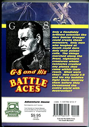 G-8 & His Battle Aces #18 3/1935-Adventure House reprint-2005-Hogan-pulp-VG