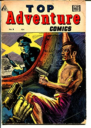 Top Adventure #2 1964-IW-Black Dwarf from Red Seal Comics #22-Kinstler-FR/G